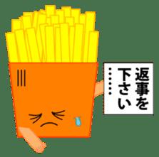 happy potato diary stamp sticker #890659