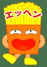 happy potato diary stamp sticker #890669