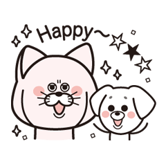 The happy life of cat, HATCH & dog, YUYU