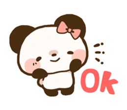 Ku-chan Panda [daily ed.] sticker #894608
