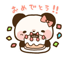 Ku-chan Panda [daily ed.] sticker #894609