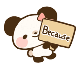Ku-chan Panda [daily ed.] sticker #894630