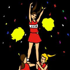 Cheerleader YUKIKO