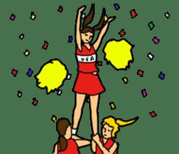 Cheerleader YUKIKO sticker #894797