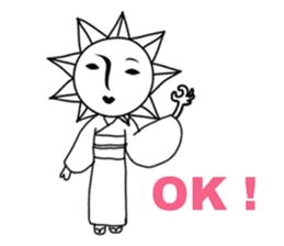 Sunny Madam (English version) sticker #895535