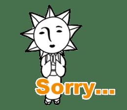 Sunny Madam (English version) sticker #895539