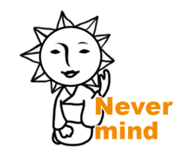Sunny Madam (English version) sticker #895541