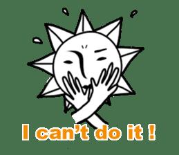 Sunny Madam (English version) sticker #895546