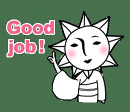 Sunny Madam (English version) sticker #895552