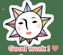 Sunny Madam (English version) sticker #895558