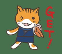 Ninja Cat  Nekonin sticker #896203