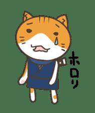 Ninja Cat  Nekonin sticker #896221
