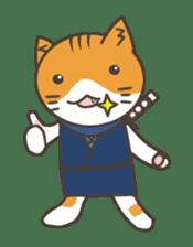 Ninja Cat  Nekonin sticker #896223