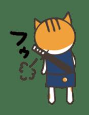 Ninja Cat  Nekonin sticker #896226