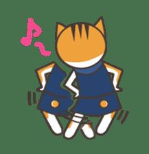 Ninja Cat  Nekonin sticker #896227