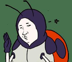 Tento Monsieur Masao-Kun sticker #896686