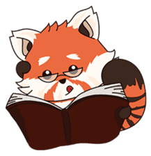 Little Tipsy the Red Panda sticker #897586