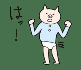 Iroha Buta sticker #897681