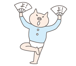 Iroha Buta sticker #897691