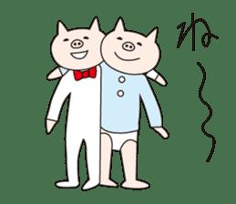Iroha Buta sticker #897696
