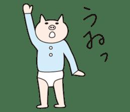 Iroha Buta sticker #897699