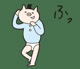 Iroha Buta sticker #897705