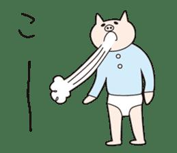 Iroha Buta sticker #897706