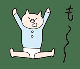 Iroha Buta sticker #897716
