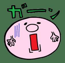 A Round Nose Boy sticker #897720