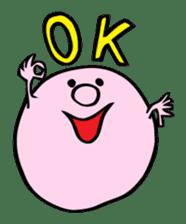 A Round Nose Boy sticker #897755