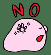 A Round Nose Boy sticker #897756