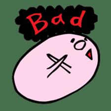A Round Nose Boy sticker #897758