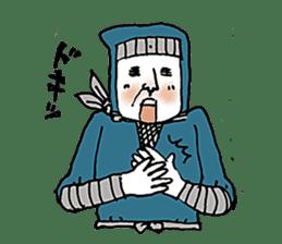 busy ninja sticker #897861