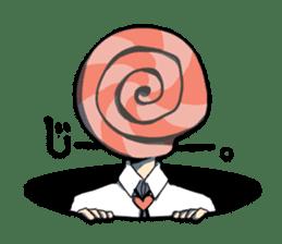 mysterious head Sticker sticker #898442