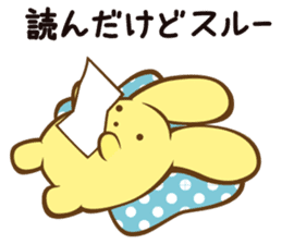 wooser's hand-to-mouth life sticker #898931