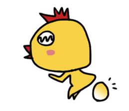chick sticker #899565
