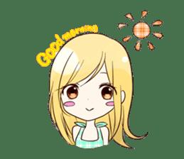 Life of cute girl sticker #899799