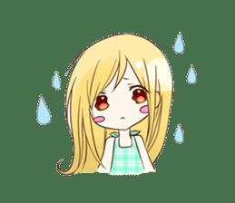 Life of cute girl sticker #899802