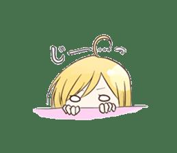 Life of cute girl sticker #899803