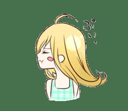 Life of cute girl sticker #899811