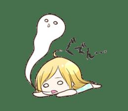 Life of cute girl sticker #899817