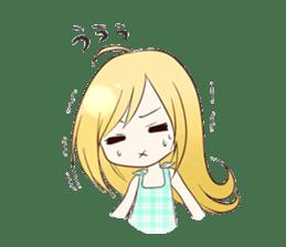 Life of cute girl sticker #899829