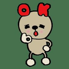 Bear-Kun sticker #899847