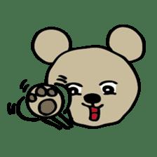 Bear-Kun sticker #899851