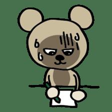 Bear-Kun sticker #899855