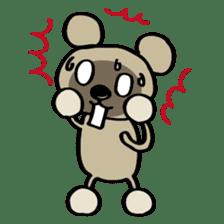 Bear-Kun sticker #899858
