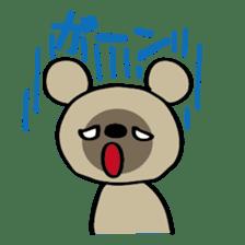 Bear-Kun sticker #899859