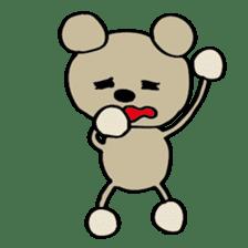 Bear-Kun sticker #899871