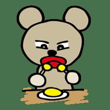 Bear-Kun sticker #899874