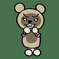 Bear-Kun sticker #899877